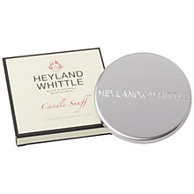 Buy Heyland and Whittle Candle Lid Snuffer, Silver Online at johnlewis.com
