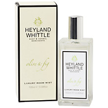 Buy Heyland & Whittle Olive And Fig Room Mist Online at johnlewis.com