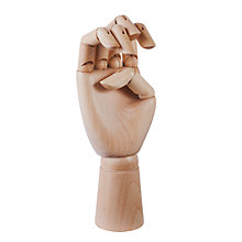 Buy Hay Artist's Wooden Hand Model Online at johnlewis.com