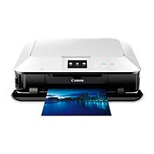 Buy Canon Pixma MG7150 Wireless All-In-One Printer with Airprint, White + Adobe Photoshop Elements 12, Photo Editing Software Online at johnlewis.com