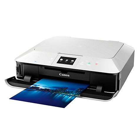 Buy Canon Pixma MG7150 Wireless All-In-One Printer, White Online at johnlewis.com