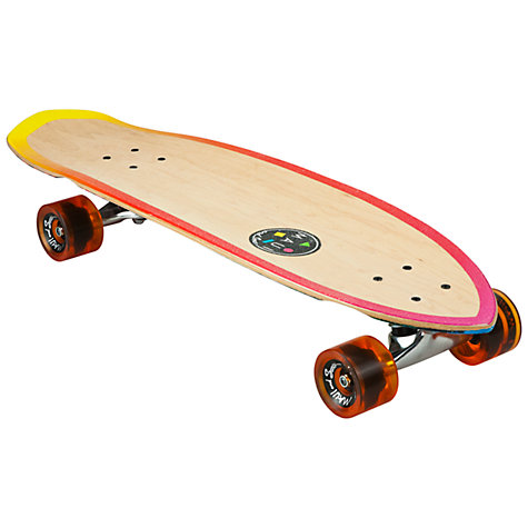 Buy Maui & Sons Mini Cruiser Lineup Skateboard, Tan Online at johnlewis.com