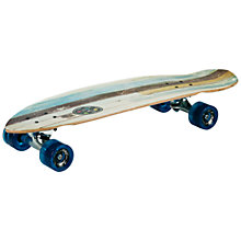 Buy Maui & Sons Mini Cruiser Vantage Skateboard, Blue/Green Online at johnlewis.com