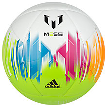 Buy Adidas Messi Football, Multi Online at johnlewis.com