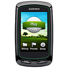 Buy Garmin Approach G6 Golf GPS, Black Online at johnlewis.com