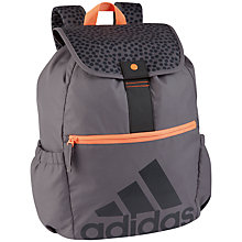 Buy Adidas Next Generation Backpack, Grey/Orange Online at johnlewis.com