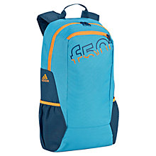 Buy Adidas F50 Backpack, Blue Online at johnlewis.com