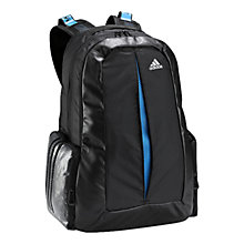 Buy Adidas Clima Backpack, Black Online at johnlewis.com