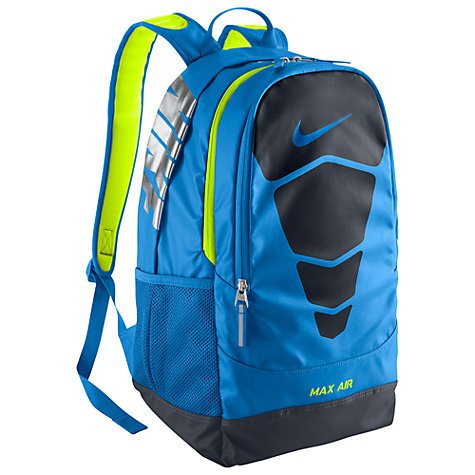Buy Nike Vapor Max Air Backpack, Blue Online at johnlewis.com