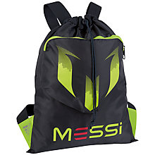 Buy Adidas Youth Messi Gymsack, Navy Online at johnlewis.com
