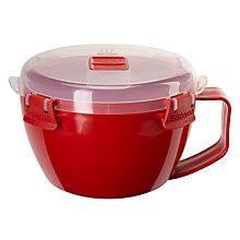 Buy Sistema Noodles To Go Microwave Bowl, Red Online at johnlewis.com