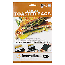 Buy Innovation Toaster Bags, Pack of 2 Online at johnlewis.com