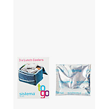 Buy Sistema Lunch Coolers Ice Packs, Set of 3 Online at johnlewis.com