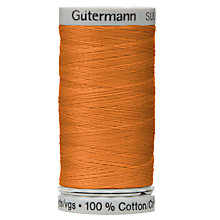 Buy Gutermann Natural Cotton C Ne 50 Thread, 100m, 1576 Online at johnlewis.com