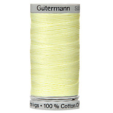 Buy Gutermann Natural Cotton C Ne 50 Thread, 100m Online at johnlewis.com