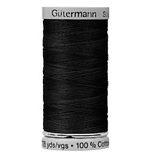 Buy Gutermann Natural Cotton C Ne 50 Thread, 100m, 5201 Online at johnlewis.com
