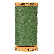 Buy Gutermann Natural Cotton C Ne 50 Thread, 250m Online at johnlewis.com