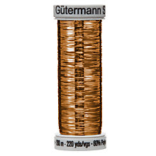 Buy Gutermann Metallic Thread, 200m Online at johnlewis.com