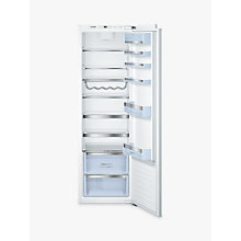 Buy Bosch KIR81AF30G Tall Integrated Larder Fridge, A++ Energy Rating, 56cm Wide Online at johnlewis.com