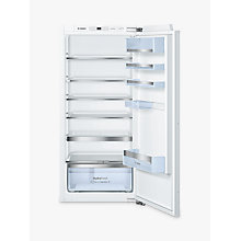 Buy Bosch KIR41AF30G Integrated Larder Fridge, A++ Energy Rating, 56cm Wide Online at johnlewis.com