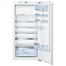 Buy Bosch KIL42AF30G Integrated Fridge with Freezer Compartment, A++ Energy Rating, 56cm Wide Online at johnlewis.com