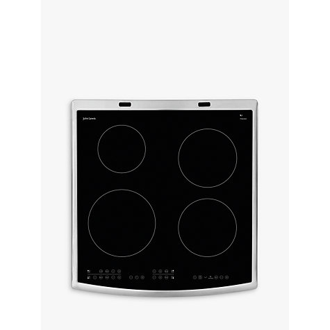 Buy John Lewis JLFSEC612 Induction Hob Electric Cooker, Stainless Steel Online at johnlewis.com