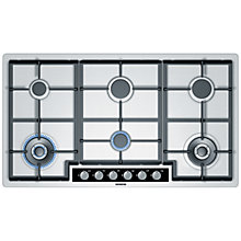 Buy Siemens EC945TB91E Gas Hob, Stainless Steel Online at johnlewis.com