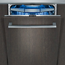 Buy Siemens SX76T097GB Integrated Dishwasher Online at johnlewis.com