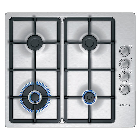 Buy Siemens EP616HB91E Gas Hob, Black Online at johnlewis.com