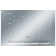 Buy Siemens EH879SP17E Induction Hob, Metal Look Glass Online at johnlewis.com
