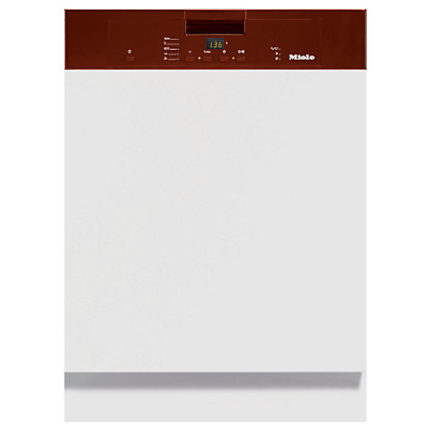 Buy Miele G4210 i Semi Integrated Dishwasher, Brown Online at johnlewis.com