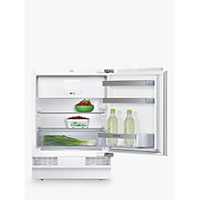 Buy Siemens KU15LA60GB Integrated Undercounter Fridge with Freezer Compartment, A++ Energy Rating, 60cm Wide Online at johnlewis.com