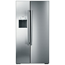 Buy Siemens KA62DP92GB American Style Fridge Freezer, Stainless Steel Online at johnlewis.com