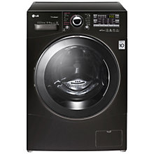 Buy LG F14A8YD Washer Dryer, 8kg Wash/6kg Dry Load, A Energy Rating, 1400rpm Spin, Black Online at johnlewis.com
