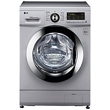 Buy LG F1496AD5 Washer Dryer, 8kg Wash/4kg Dry Load, B Energy Rating, 1400rpm Spin, Silver Online at johnlewis.com