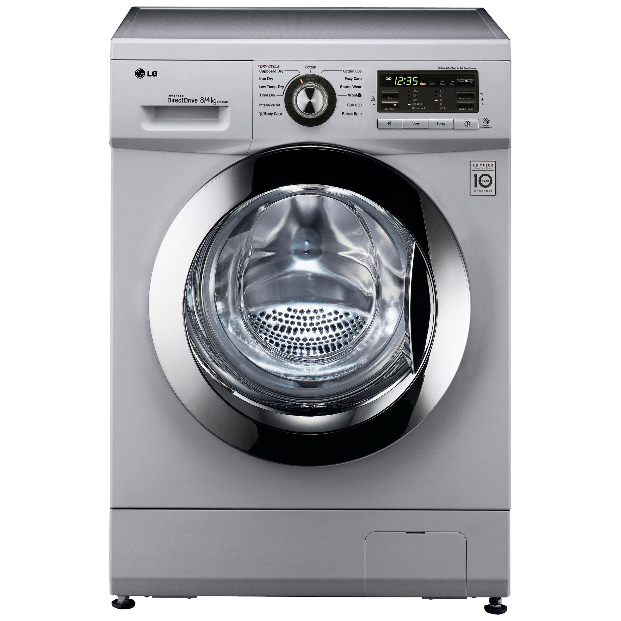 1400 Spin, 8kg Wash, 4kg Dry Washer Dryer
