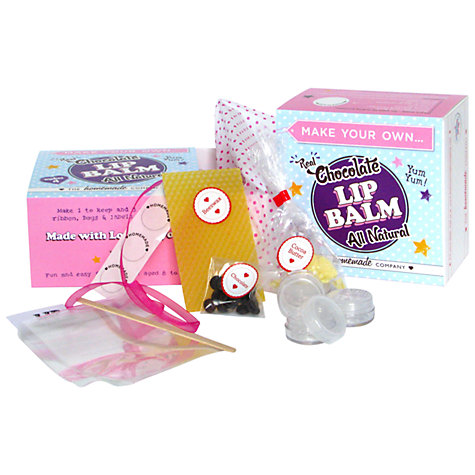 Buy Make Your Own Chocolate Lip Balm Kit Online at johnlewis.com