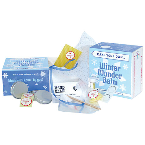 Buy Make Your Own Winter Wonder Skin Balm Kit Online at johnlewis.com