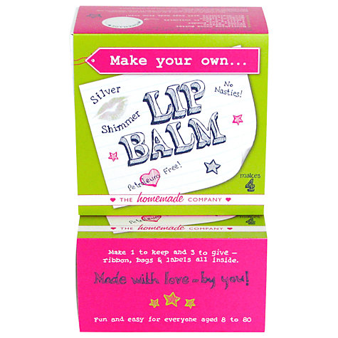 Buy Make Your Own Silver Lip Balm Kit Online at johnlewis.com