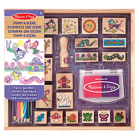 Buy Melissa & Doug Fairy Stamp Kit Online at johnlewis.com