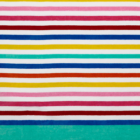 Buy John Lewis The Basics Bold Stripe Beach Towel Online at johnlewis.com