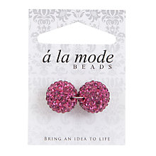 Buy Groves A La Mode Shambala Charms, 14mm, Pack of 2 Online at johnlewis.com