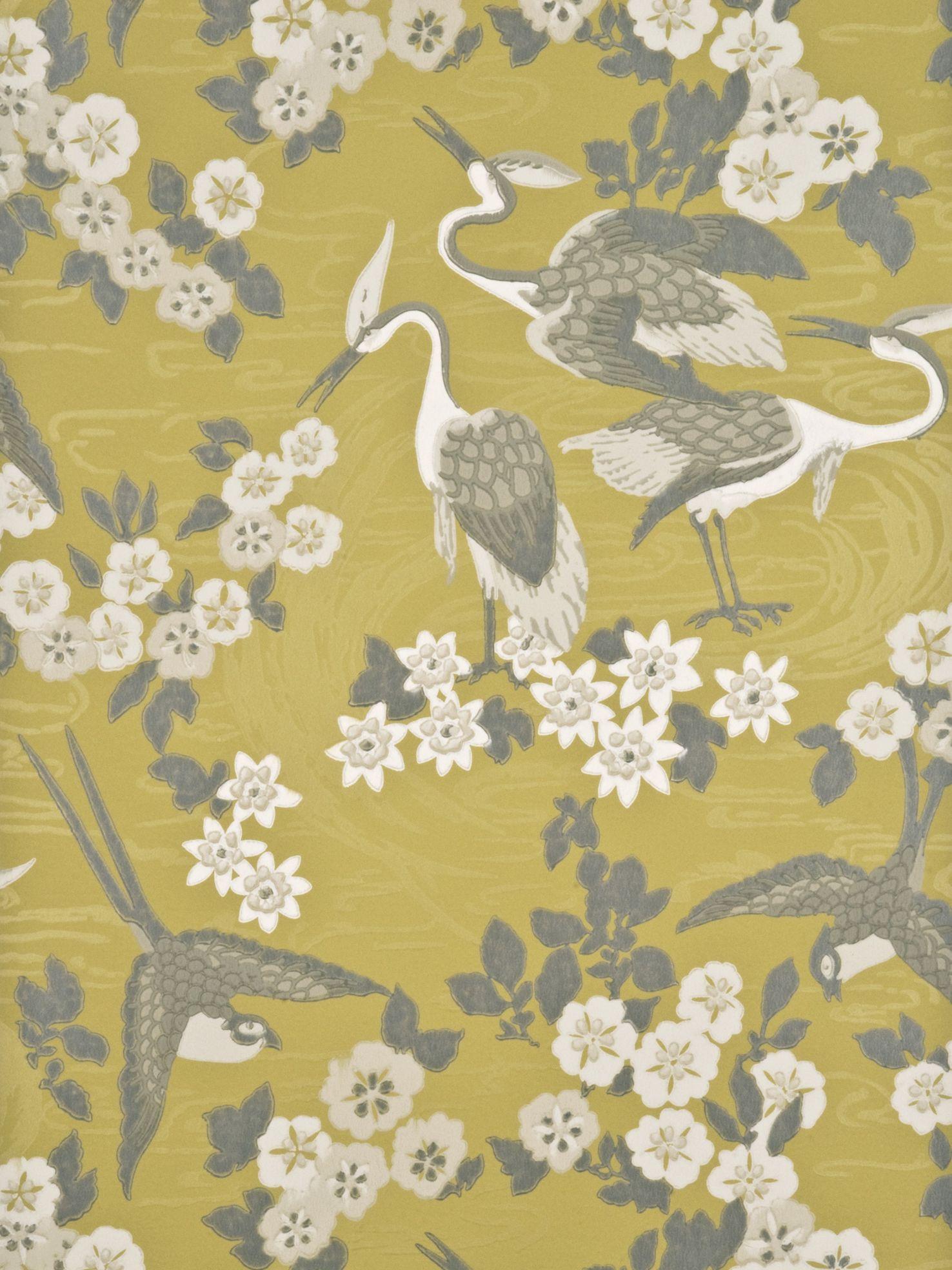 GP & J Baker GP & J Baker Herons Wallpaper