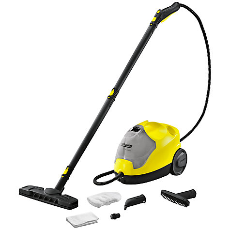 Buy Kärcher SC2500C Dual Tank Steam Cleaner, Yellow Online at johnlewis.com
