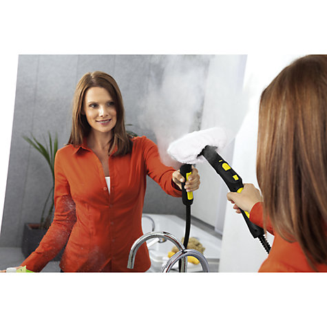 Buy Kärcher SC5800C Dual Tank Steam Cleaner with Steam Iron Connection, Yellow Online at johnlewis.com
