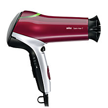 Buy Braun HD770 Satin-Hair 7 Colour Hair Dryer Online at johnlewis.com