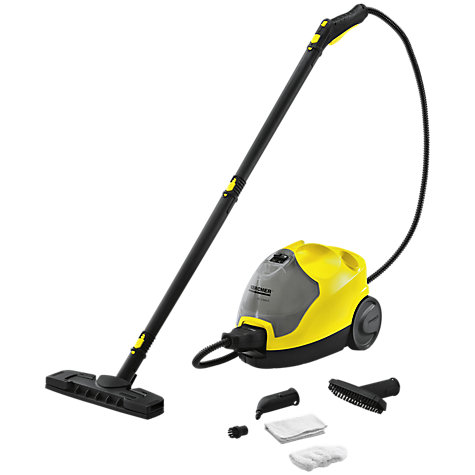 Buy Kärcher SC2600C Dual Tank Steam Cleaner with Steam Iron Connection, Yellow Online at johnlewis.com
