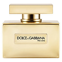 Buy Dolce & Gabbana The One For Women Eau de Parfum Gold Limited Edition Online at johnlewis.com