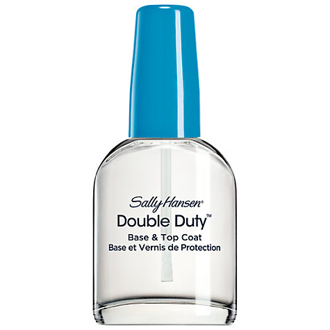Buy Sally Hansen Double Duty Strengthening Base & Topcoat, 13ml Online at johnlewis.com