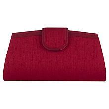 Buy Jacques Vert Garnet Clutch Bag, Red Online at johnlewis.com